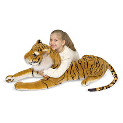 Melissa & Doug Tiger Giant Stuffed Animal Toy | Singpet.COM