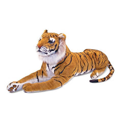 Melissa & Doug Tiger Giant Stuffed Animal Toy