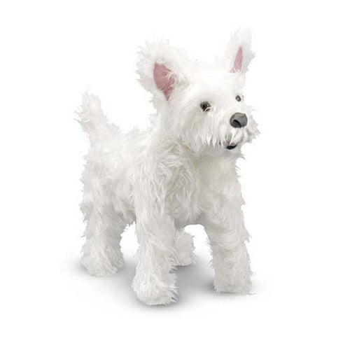 Melissa & Doug West Highland Terrier Dog Giant Stuffed Animal Toy | Singpet.Com