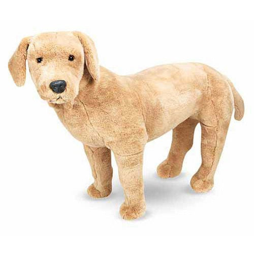 Melissa & Doug Yellow Lab Dog Giant Stuffed Animal Toy