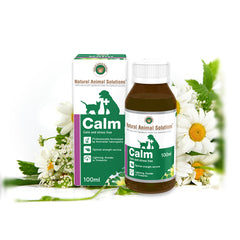 Natural Animal Solutions Calm Liquid Supplement For Pets Anxiety | Singpet.Com