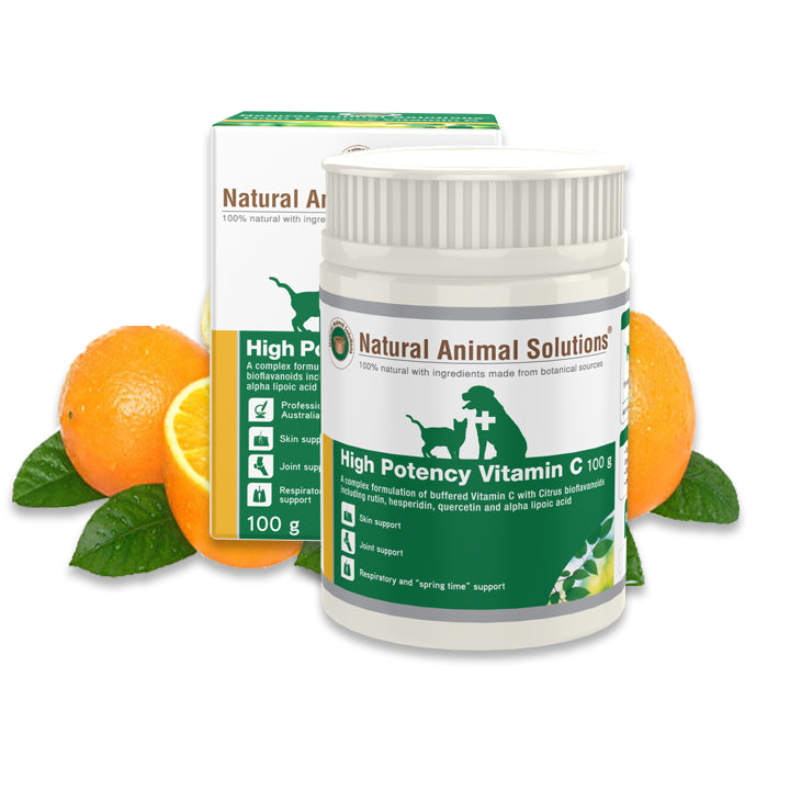Natural Animal Solutions High Potency Vitamin C Food Supplement | Singpet.Com