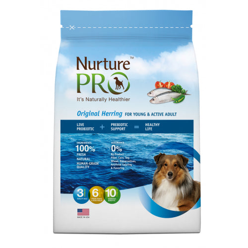 Nurture Pro Original Herring Active & Young Adult - Dry Dog Food