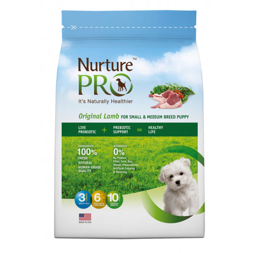 Nurture Pro Original Lamb for Small & Medium Breed Puppy, 26lb - Dry Dog Food