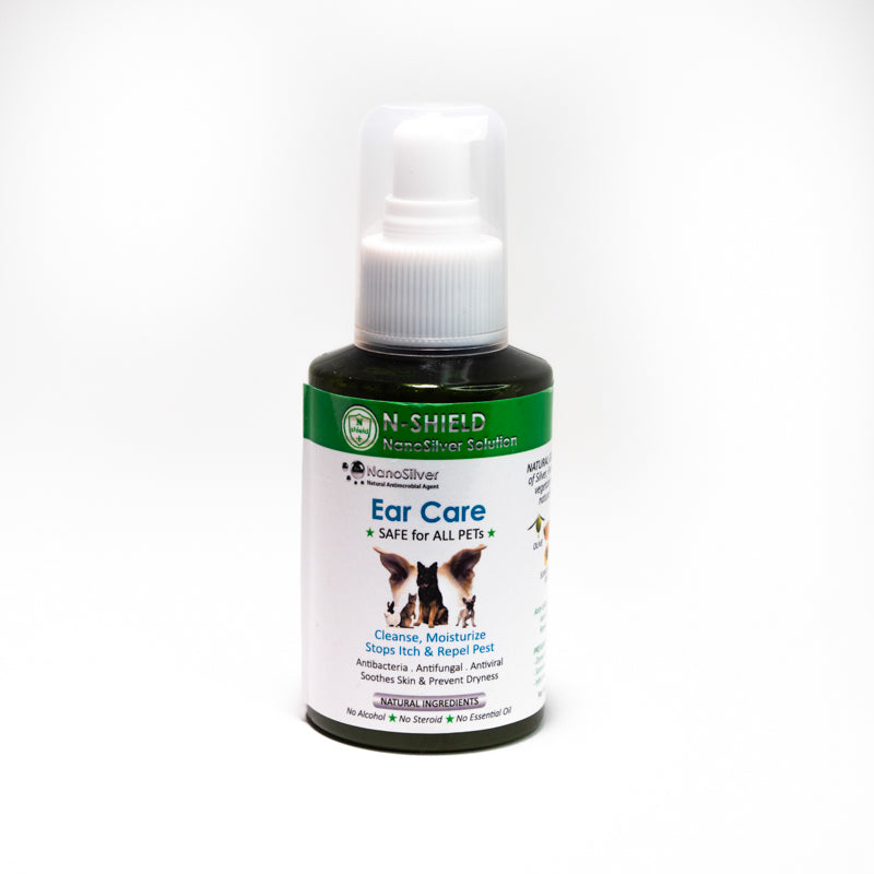 N-Shield Nanosilver Ear Care Spray For Pets | Singpet.Com