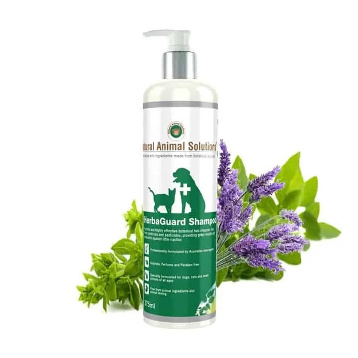 Natural Animal Solutions HerbaGuard Shampoo For Dogs, Cats & Small Animals | Singpet.Com