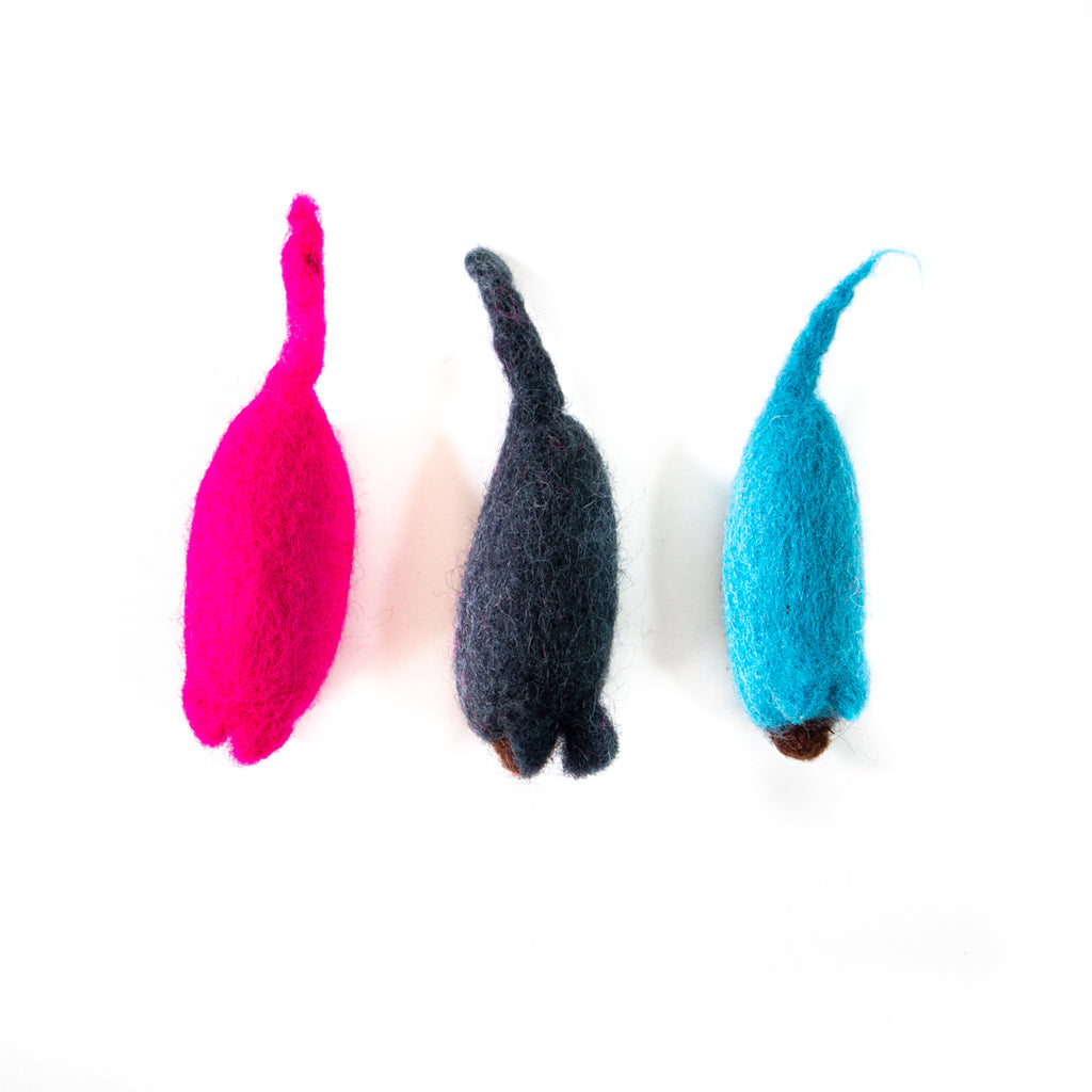 Dharma Dog Karma Cat Pack of 3 Mouse Toy For Cats