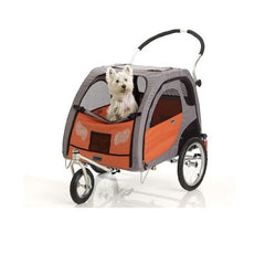 Petego Comfort Wagon Bicycle Trailer For Pet Mobility