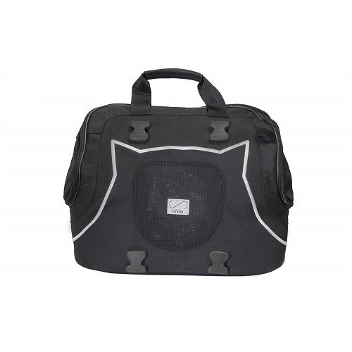 Petego Infinita Universal Sport Bag Pet Carrier, Black/Silver | Singpet.Com.Sg