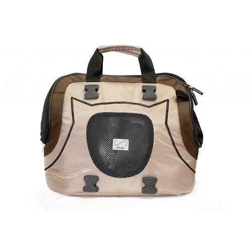 Petego Infinita Universal Sport Bag Pet Carrier, Tan/Brown | Singpet.Com.Sg