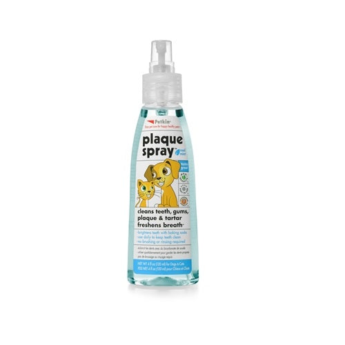 Petkin Dental Plaque Spray For Dogs& Cats | Singpet.Com
