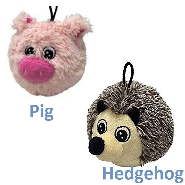 "Petlou Ez Squeaky 4"" Dog Toys Collection 