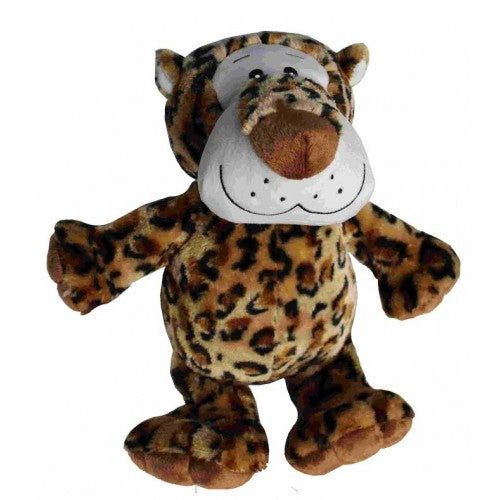 Petlou Medium Plush 8 Inch Dog Toy, Leopard | Singpet.Com