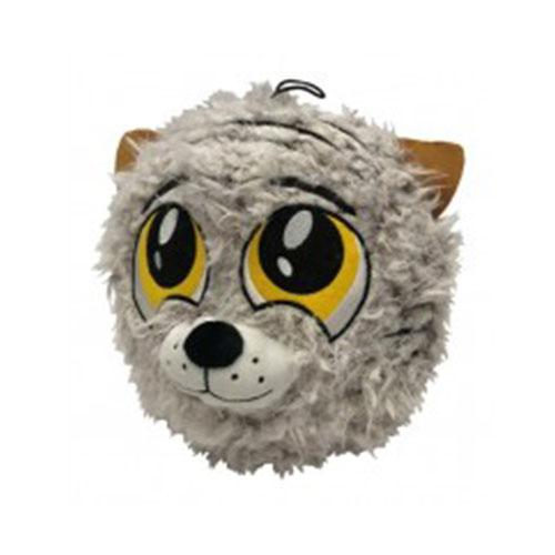 Petlou Fuzzy Ball Dog Toy (Tiger) | Singpet.Com
