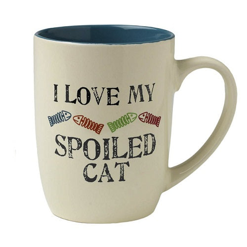 Petrageous Designs One Spoiled Cat Mug, 24 Oz | Singpet.Com.Sg