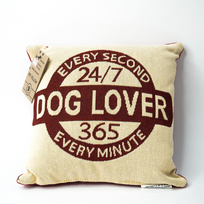 Park B. Smith Vintage House Pillow, Dog Lover Pattern (Square)