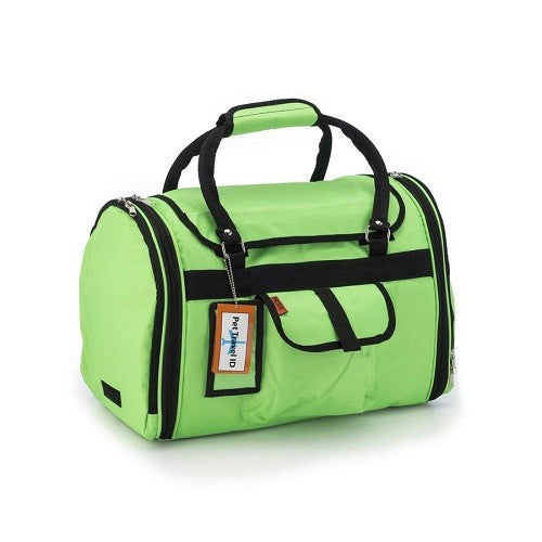Prefer Pets Privacy Duffel Carrier For Dogs, Cats & Other Small Animals (Lime Green) | Singpet.COM