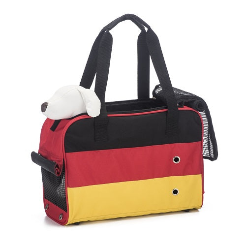 Prefer Pets Unity Tote Travel Carrier For Dogs & Cats (Germany Theme) | Singpet.Com.Sg