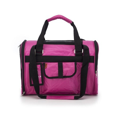 Prefer Pets Jet Travel Carriers For Dogs & Cats (Pink Fuchsia) | Singpet.COM