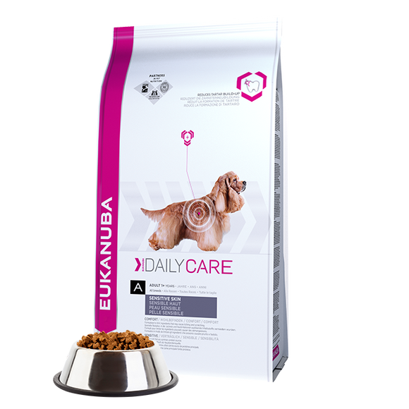 Eukanuba Daily Care Sensitive Skin Dry Dog Food | Singpet.COM