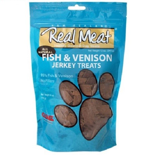 Real Meat All Natural Fish & Venison Jerky Treats For Dogs | Singpet.COM