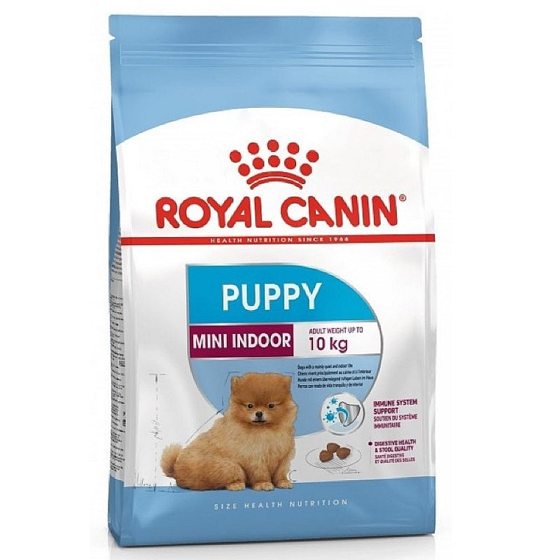 Royal Canin Puppy Mini Indoor Dry Dog Food | Singpet.Com