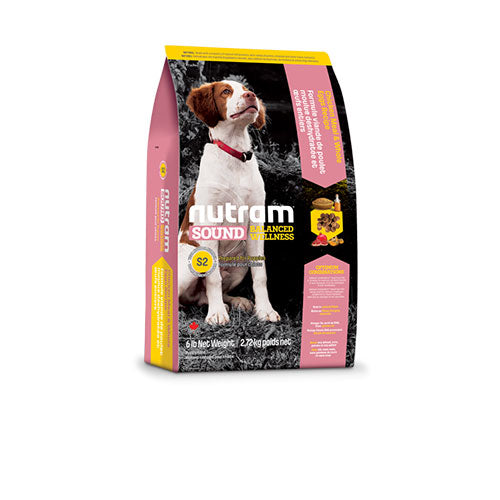 S2 Nutram Sound Balanced Wellness® Natural Food For Puppy - Chicken Meal and Whole Eggs Recipe | Singpet.COM