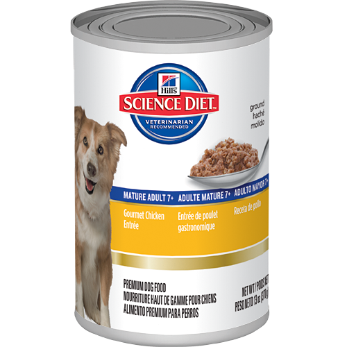 Hills Science Diet Mature Adult Gourmet Chicken Entrèe Canned Dog Food | Singpet.COM
