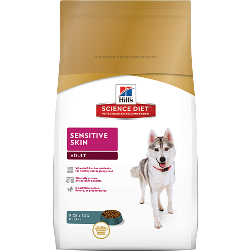 Hills Science Diet Adult Sensitive Skin - Dry Dog Food | Singpet.COM