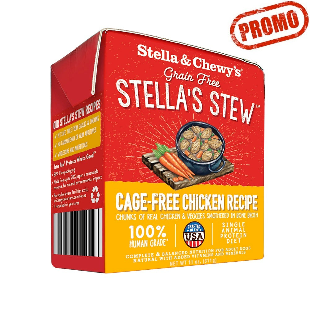 Stella & Chewy's Stews, Cage-Free Chicken