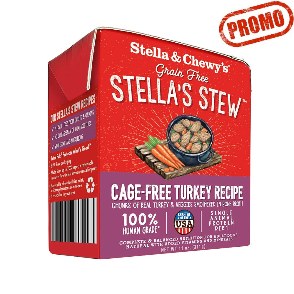 Stella & Chewy's Stews, Cage-Free Turkey Recipe | Singpet.Com