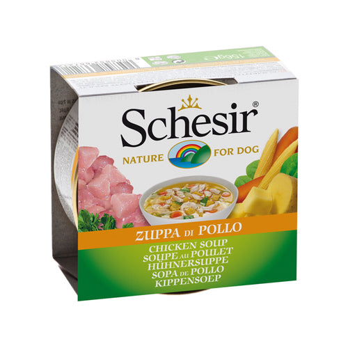 Schesir Chicken Soup Canned Dog Food | Singpet.Com
