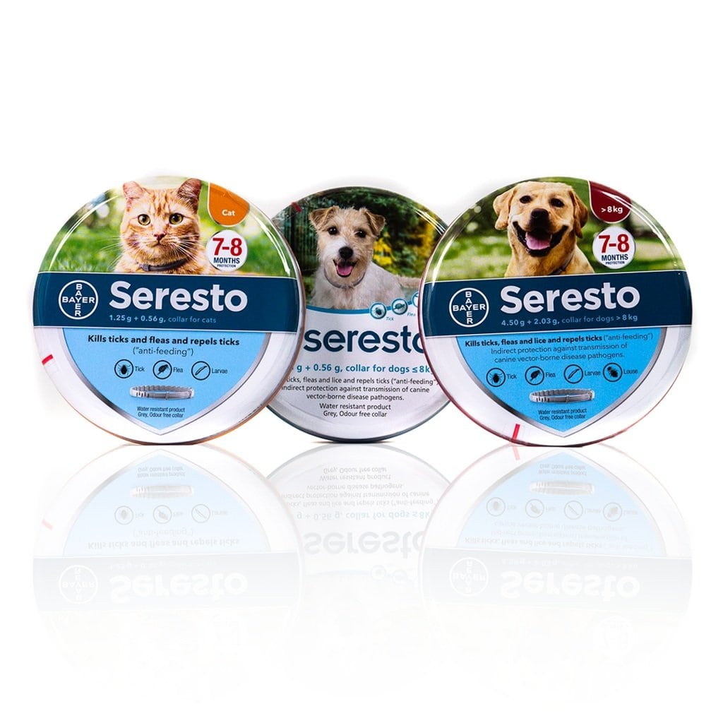 Seresto Flea & Tick Collars for Dogs & Cats | Singpet.Com