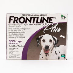 Frontline Plus For Large Dogs 20-40 kg (44-88 lbs) | Singpet.Com.Sg