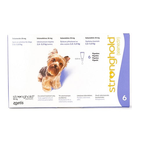 Stronghold (Revolution) Flea & Heartworm Spot-on For Dogs, Puppies & Kittens