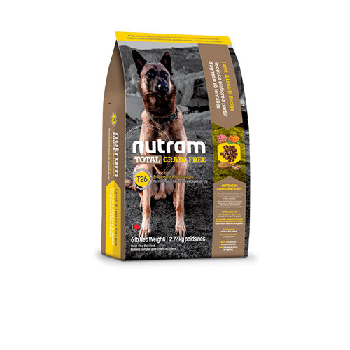 T26 Nutram Total Grain-Free® Food For Dogs - Lamb and Lentils Recipe | Singpet.COM