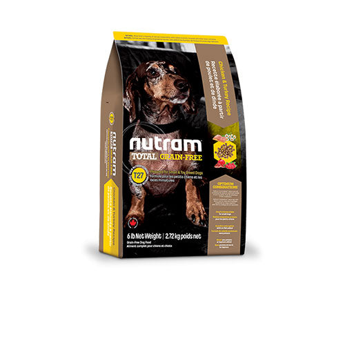 T27 Nutram Total Grain-Free® Food For Dog - Chicken and Turkey Recipe | Singpet.COM