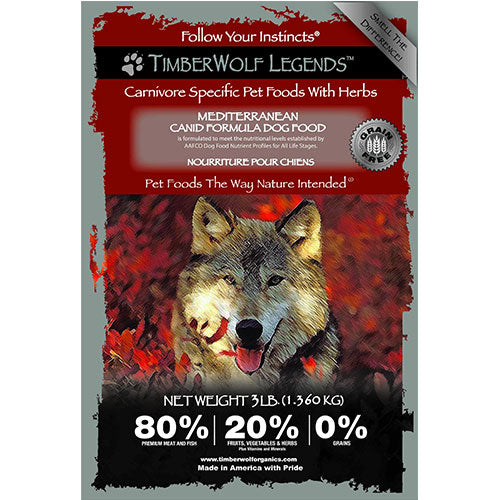 Timberwolf Legends Lamb & Herring with Apple & Herbs Grain Free Dry Dog Food | Singpet.Com
