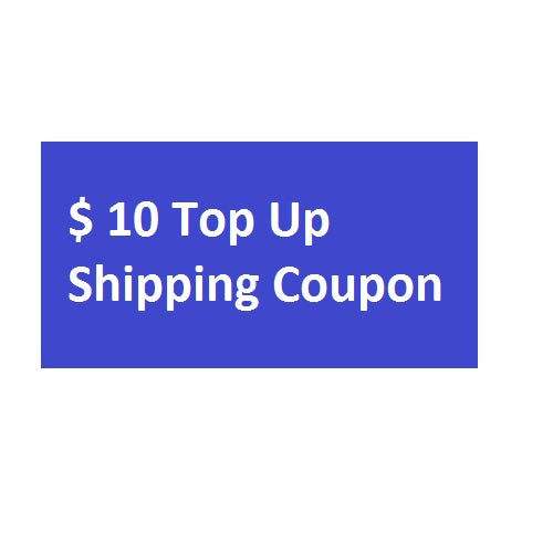 Shipping Top-up Coupons