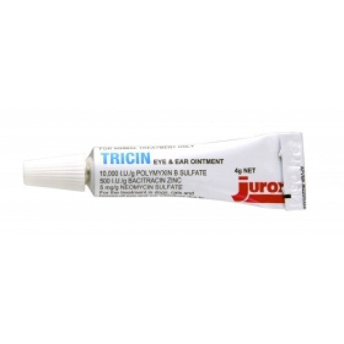 Tricin Eye and Ear Ointment | Singpet.COM
