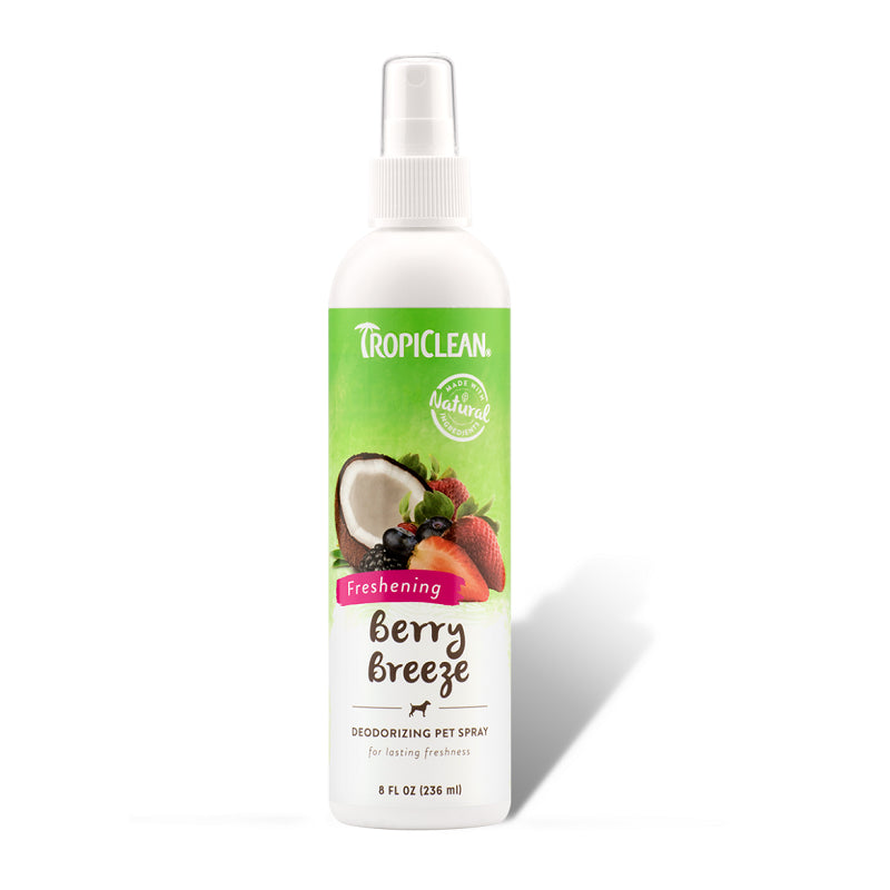 Tropiclean Berry Breeze Deodorizing Pet Spray | Singpet.Com