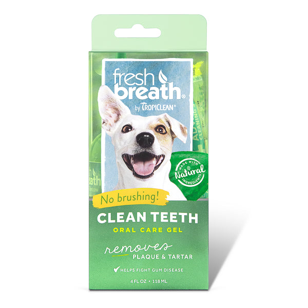 Tropiclean Fresh Breath Clean Teeth Gel | Singpet.Com