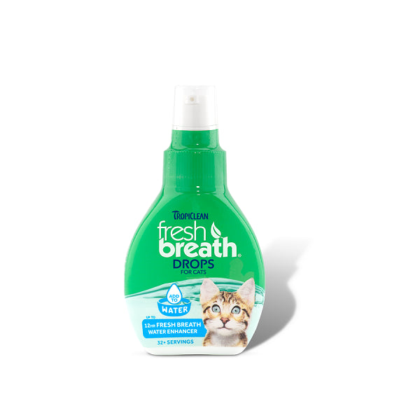 Tropiclean Fresh Breath Drops For Cats | Singpet.Com