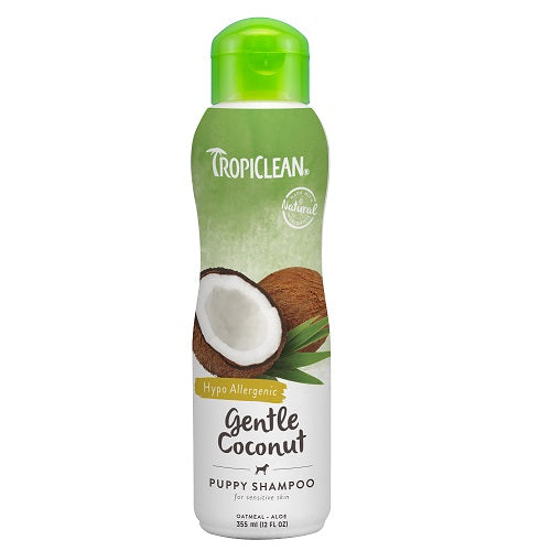 Tropiclean Gentle Coconut Pet Shampoo For Puppies & Kittens | Singpet.Com.Sg