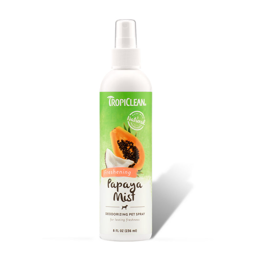 Tropiclean Papaya Mist Deodorizing Pet Spray | Singpet.Com