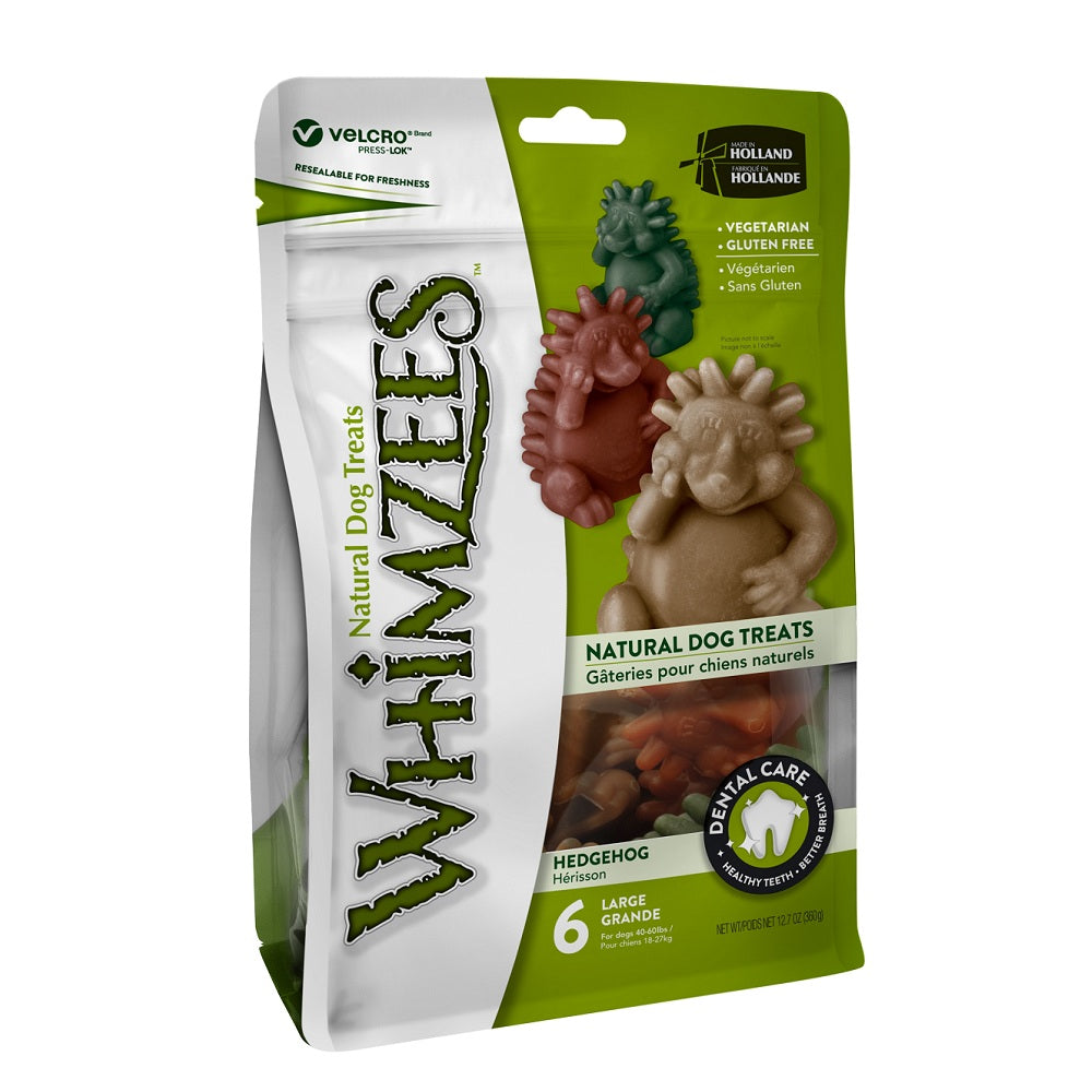Whimzees Dental Dog Treats, Hedgehog | Singpet.Com