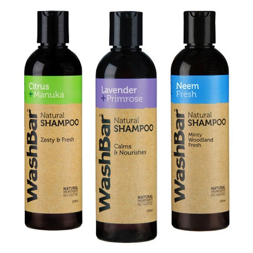 WashBar Natural Shampoo For Dogs | Singpet.Com.Sg