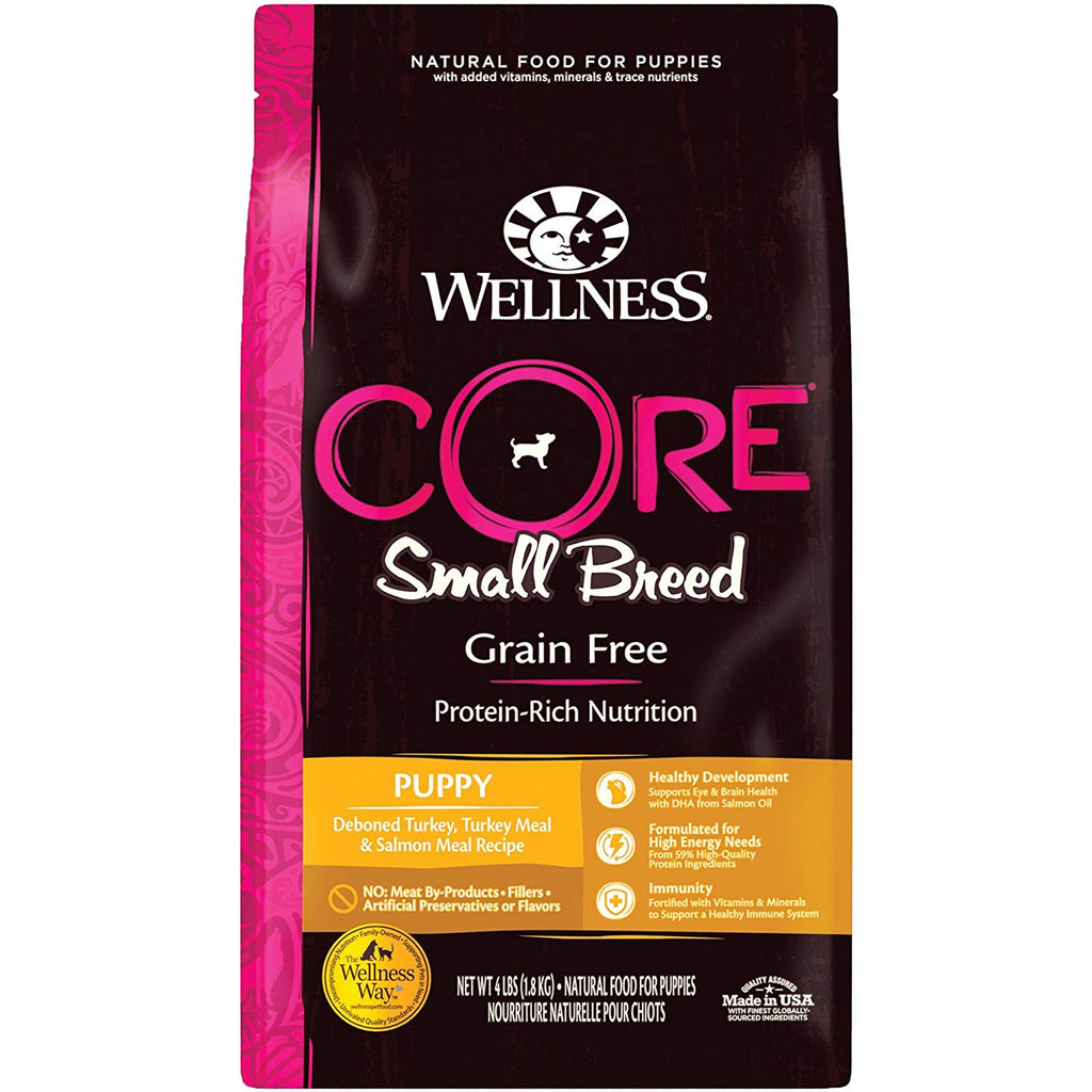 Wellness CORE Small Breed Grain Free Dry Puppy Food | Singpet.Com