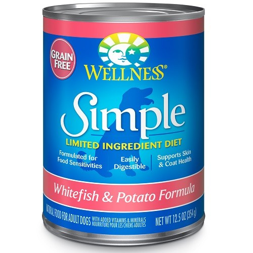 Wellness Simple Limited Ingredient Whitefish & Potato Formula - Wet Canned Dog Food | Singpet.COM
