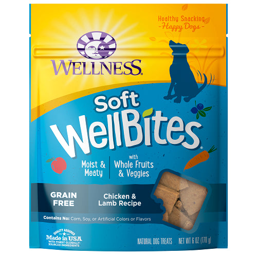 Wellness Soft Wellbites Chicken & Lamb Dog Treats | Singpet.Com